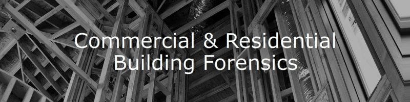Commercial & Residential Building Forensics